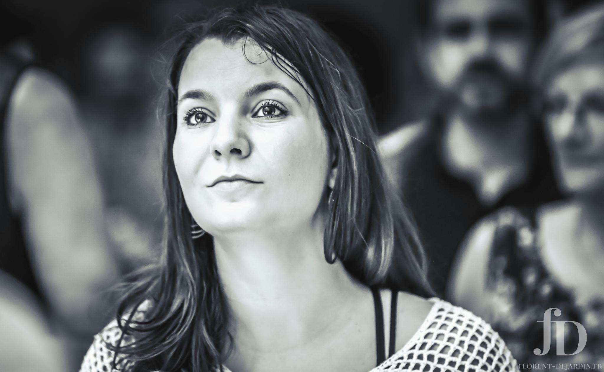 photographie en noir et blanc utilisée pour illustrée un article sur la photogénie