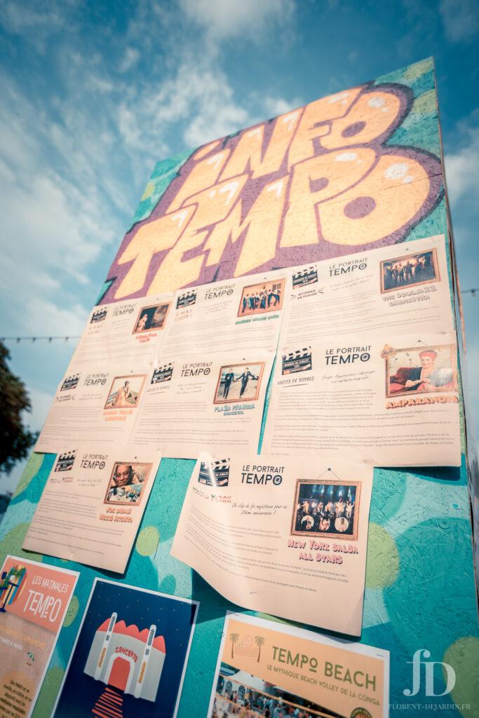 Affiche du festival Tempo Latino de danse