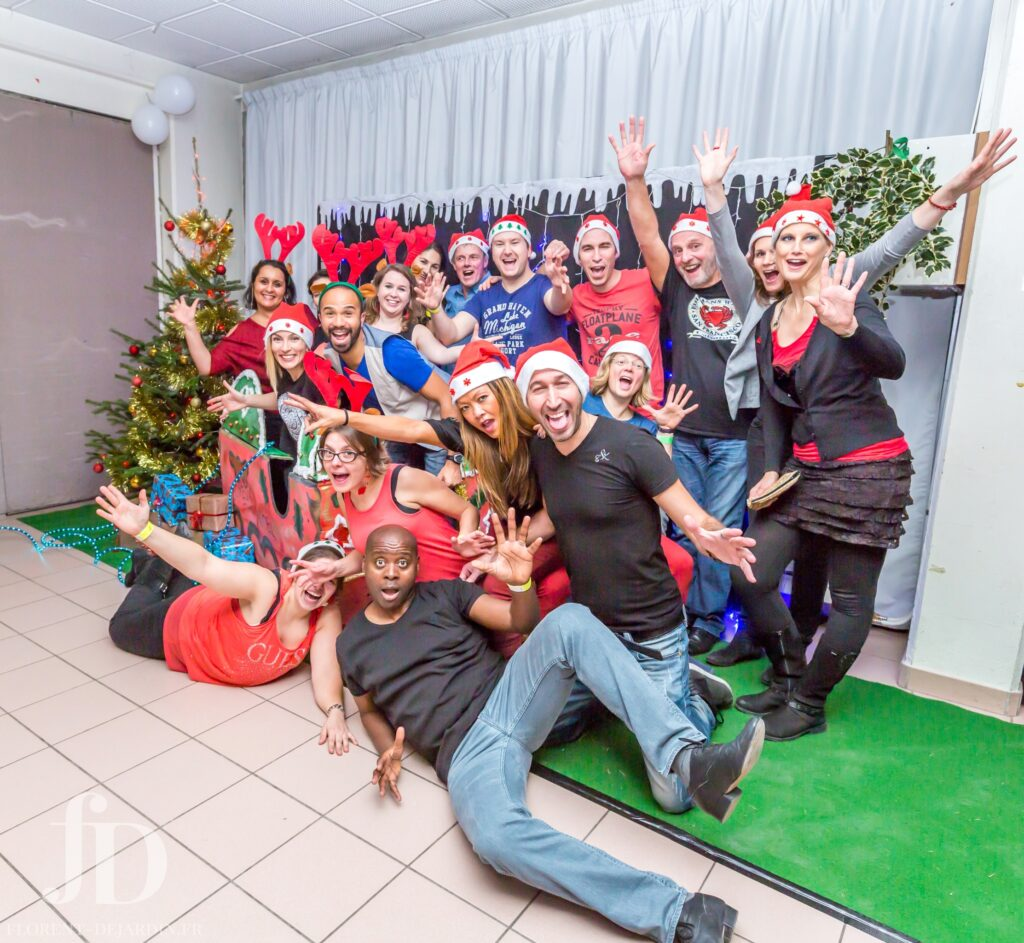 West Coast Swing En attendant Noël à Strasbourg 2016 organisé par Browly dance