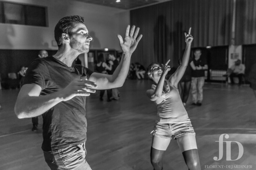 Photographie d'évènement de danse : salsa, west coast swing, bachata, kizomba - Strasbourg, Alsace, France